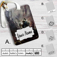 Artorias of The Abyss Dark Souls Custom Leather Luggage Tag