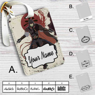 Assassin's Creed Avatar The Legend Of Korra Custom Leather Luggage Tag