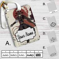 Assassin's Creed Avatar The Legend Of Korra Custom Leather Luggage Tag