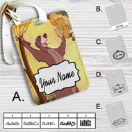 Baloo Disney The Jungle Book Custom Leather Luggage Tag
