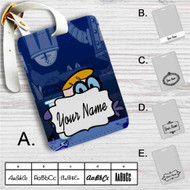 Dexter's Laboratory Custom Leather Luggage Tag