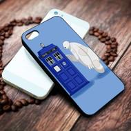 baymax tardis on your case iphone 4 4s 5 5s 5c 6 6plus 7 case / cases