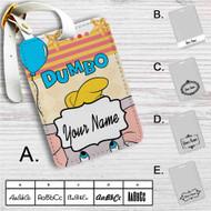Disney Dumbo Custom Leather Luggage Tag