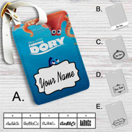 Finding Dory Custom Leather Luggage Tag