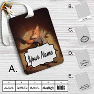 Nick Wilde and Judy Hopps Zootopia Custom Leather Luggage Tag