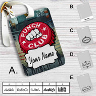 Punch Club Custom Leather Luggage Tag