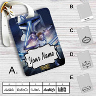 Star Wars The Clone Wars Custom Leather Luggage Tag