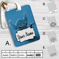 Stitch With Ukulele Custom Leather Luggage Tag