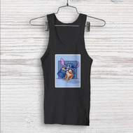 Disney Stitch and Android BB8 Star Wars Custom Men Woman Tank Top T Shirt Shirt