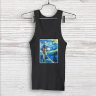 Disney Tanged Starry Night Custom Men Woman Tank Top T Shirt Shirt
