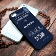 Beside You Lyrics 5sos on your case iphone 4 4s 5 5s 5c 6 6plus 7 case / cases