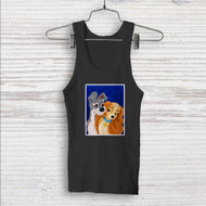 Lady and the Tramp Love Disney Custom Men Woman Tank Top T Shirt Shirt