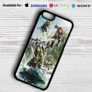 Teenage Mutant Ninja Turtles Fight on your case iphone 4 4s 5 5s 5c 6 6plus 7 Samsung Galaxy s3 s4 s5 s6 s7 HTC Case
