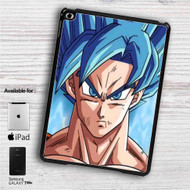 "Goku Super Saiyan Blue Dragon Ball Super iPad 2 3 4 iPad Mini 1 2 3 4 iPad Air 1 2 | Samsung Galaxy Tab 10.1"" Tab 2 7"" Tab 3 7"" Tab 3 8"" Tab 4 7"" Case"