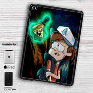 "Gravity Falls Bill Cipher and Bipper iPad 2 3 4 iPad Mini 1 2 3 4 iPad Air 1 2 | Samsung Galaxy Tab 10.1"" Tab 2 7"" Tab 3 7"" Tab 3 8"" Tab 4 7"" Case"
