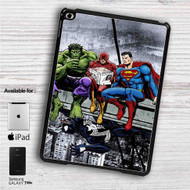 "Hulk The Flash Superman Venom Breakfast iPad 2 3 4 iPad Mini 1 2 3 4 iPad Air 1 2 | Samsung Galaxy Tab 10.1"" Tab 2 7"" Tab 3 7"" Tab 3 8"" Tab 4 7"" Case"