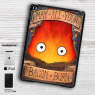 "Studio Ghibli Calcifer iPad 2 3 4 iPad Mini 1 2 3 4 iPad Air 1 2 | Samsung Galaxy Tab 10.1"" Tab 2 7"" Tab 3 7"" Tab 3 8"" Tab 4 7"" Case"