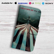 American Horror Story Freak Show Custom Leather Wallet iPhone 4/4S 5S/C 6/6S Plus 7| Samsung Galaxy S4 S5 S6 S7 Note 3 4 5| LG G2 G3 G4| Motorola Moto X X2 Nexus 6| Sony Z3 Z4 Mini| HTC ONE X M7 M8 M9 Case