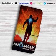 Anomaly Warzone Earth Custom Leather Wallet iPhone 4/4S 5S/C 6/6S Plus 7| Samsung Galaxy S4 S5 S6 S7 Note 3 4 5| LG G2 G3 G4| Motorola Moto X X2 Nexus 6| Sony Z3 Z4 Mini| HTC ONE X M7 M8 M9 Case