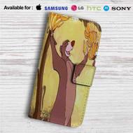 Baloo Disney The Jungle Book Custom Leather Wallet iPhone 4/4S 5S/C 6/6S Plus 7| Samsung Galaxy S4 S5 S6 S7 Note 3 4 5| LG G2 G3 G4| Motorola Moto X X2 Nexus 6| Sony Z3 Z4 Mini| HTC ONE X M7 M8 M9 Case
