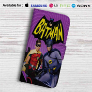 Batman and Robin Custom Leather Wallet iPhone 4/4S 5S/C 6/6S Plus 7| Samsung Galaxy S4 S5 S6 S7 Note 3 4 5| LG G2 G3 G4| Motorola Moto X X2 Nexus 6| Sony Z3 Z4 Mini| HTC ONE X M7 M8 M9 Case