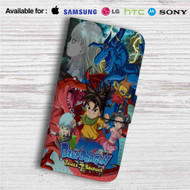 Blue Dragon Trials of the Seven Shadows Custom Leather Wallet iPhone 4/4S 5S/C 6/6S Plus 7| Samsung Galaxy S4 S5 S6 S7 Note 3 4 5| LG G2 G3 G4| Motorola Moto X X2 Nexus 6| Sony Z3 Z4 Mini| HTC ONE X M7 M8 M9 Case
