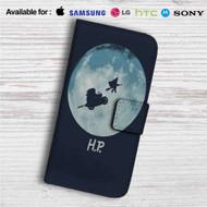 Harry Potter Go to The Moon Custom Leather Wallet iPhone 4/4S 5S/C 6/6S Plus 7| Samsung Galaxy S4 S5 S6 S7 Note 3 4 5| LG G2 G3 G4| Motorola Moto X X2 Nexus 6| Sony Z3 Z4 Mini| HTC ONE X M7 M8 M9 Case