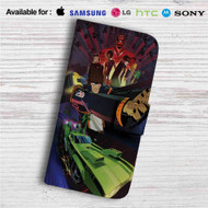 Motorcity Custom Leather Wallet iPhone 4/4S 5S/C 6/6S Plus 7  Samsung Galaxy S4 S5 S6 S7 Note 3 4 5  LG G2 G3 G4  Motorola Moto X X2 Nexus 6  Sony Z3 Z4 Mini  HTC ONE X M7 M8 M9 Case