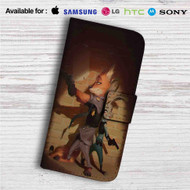 Nick Wilde and Judy Hopps Zootopia Custom Leather Wallet iPhone 4/4S 5S/C 6/6S Plus 7| Samsung Galaxy S4 S5 S6 S7 Note 3 4 5| LG G2 G3 G4| Motorola Moto X X2 Nexus 6| Sony Z3 Z4 Mini| HTC ONE X M7 M8 M9 Case