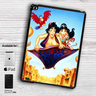 "Disney Aladdin and Jasmine WIth Monkey iPad 2 3 4 iPad Mini 1 2 3 4 iPad Air 1 2 | Samsung Galaxy Tab 10.1"" Tab 2 7"" Tab 3 7"" Tab 3 8"" Tab 4 7"" Case"