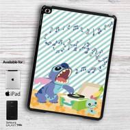 """Disney Lilo & Stitch Sing iPad 2 3 4 iPad Mini 1 2 3 4 iPad Air 1 2   Samsung Galaxy Tab 10.1"""" Tab 2 7"""" Tab 3 7"""" Tab 3 8"""" Tab 4 7"""" Case"""