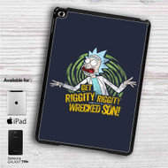 "Get Riggity Rick and Morty iPad 2 3 4 iPad Mini 1 2 3 4 iPad Air 1 2 | Samsung Galaxy Tab 10.1"" Tab 2 7"" Tab 3 7"" Tab 3 8"" Tab 4 7"" Case"