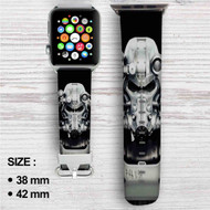 Fallout 4 Custom Apple Watch Band Leather Strap Wrist Band Replacement 38mm 42mm