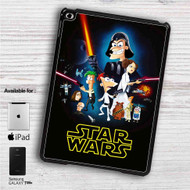 "This Phineas and Ferb Star Wars iPad 2 3 4 iPad Mini 1 2 3 4 iPad Air 1 2 | Samsung Galaxy Tab 10.1"" Tab 2 7"" Tab 3 7"" Tab 3 8"" Tab 4 7"" Case"