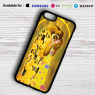 Disney Beauty And The Beast Gustav Klimt iPhone 4/4S 5 S/C/SE 6/6S Plus 7  Samsung Galaxy S4 S5 S6 S7 NOTE 3 4 5  LG G2 G3 G4  MOTOROLA MOTO X X2 NEXUS 6  SONY Z3 Z4 MINI  HTC ONE X M7 M8 M9 M8 MINI CASE