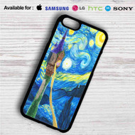 Disney Tanged Starry Night iPhone 4/4S 5 S/C/SE 6/6S Plus 7| Samsung Galaxy S4 S5 S6 S7 NOTE 3 4 5| LG G2 G3 G4| MOTOROLA MOTO X X2 NEXUS 6| SONY Z3 Z4 MINI| HTC ONE X M7 M8 M9 M8 MINI CASE