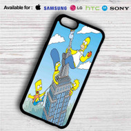 The City of New York vs Homer Simpson iPhone 4/4S 5 S/C/SE 6/6S Plus 7| Samsung Galaxy S4 S5 S6 S7 NOTE 3 4 5| LG G2 G3 G4| MOTOROLA MOTO X X2 NEXUS 6| SONY Z3 Z4 MINI| HTC ONE X M7 M8 M9 M8 MINI CASE