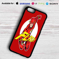 The Flash Comic iPhone 4/4S 5 S/C/SE 6/6S Plus 7| Samsung Galaxy S4 S5 S6 S7 NOTE 3 4 5| LG G2 G3 G4| MOTOROLA MOTO X X2 NEXUS 6| SONY Z3 Z4 MINI| HTC ONE X M7 M8 M9 M8 MINI CASE
