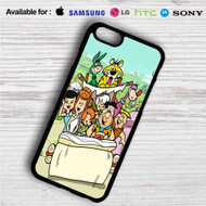 The Flinstones Family iPhone 4/4S 5 S/C/SE 6/6S Plus 7| Samsung Galaxy S4 S5 S6 S7 NOTE 3 4 5| LG G2 G3 G4| MOTOROLA MOTO X X2 NEXUS 6| SONY Z3 Z4 MINI| HTC ONE X M7 M8 M9 M8 MINI CASE