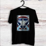 Captain America Shield Iron Man Arc Reactor Custom T Shirt Tank Top Men and Woman