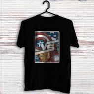 Captain America Vs Iron Man Custom T Shirt Tank Top Men and Woman