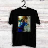 Link The Legend of Zelda Wii Custom T Shirt Tank Top Men and Woman