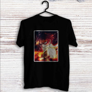 Natsu Dragneel Fire Fairy Tail Custom T Shirt Tank Top Men and Woman