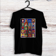 Super Mario No Face Custom T Shirt Tank Top Men and Woman