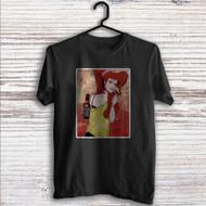 Disney Hercules Megara Smoke Custom T Shirt Tank Top Men and Woman