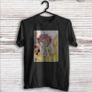 Natsu Dragneel and Lucy Heartfilia Fairy Tail Custom T Shirt Tank Top Men and Woman