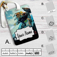 Anomaly 2 Custom Leather Luggage Tag