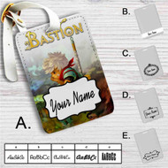 Bastion Custom Leather Luggage Tag