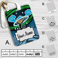 Danny Phantom Custom Leather Luggage Tag