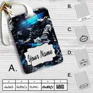 Dead Space Custom Leather Luggage Tag